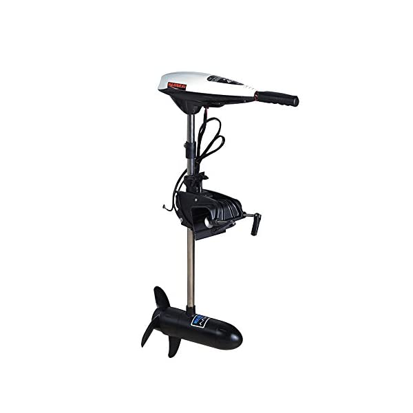 OUKANING 45lbs Electric Motor Outboard Outboard Boat Boots Boat Motor 12V
