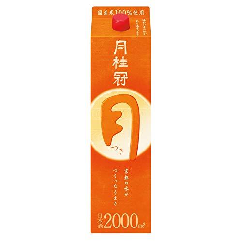 清酒 月桂冠 定番酒 つき パック 2L