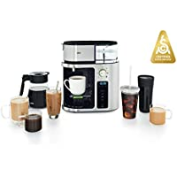 Braun KF9070SI 10-Cup MultiServe Stainless Steel Coffee Maker with 7 Programmable Brew Sizes / 3 Strengths + Iced Coffee, Glass Carafe