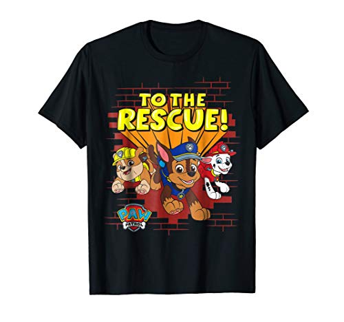 PAW Patrol Group  To The Rescue!  T-Shirt