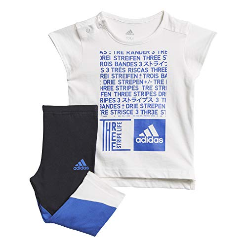 Adidas Unisex Baby Minme Set trainingspak