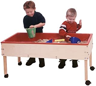 Steffy Wood Products Toddler Sand and Water Table with Top