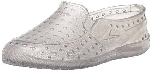 Speedo baby-girls Water Shoe Jelly Jump Toddler,Frost Grey,L Toddler US
