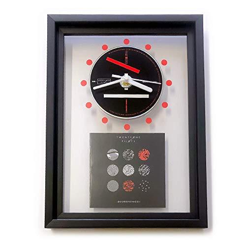 TWENTY ONE PILOTS - Blurryface: GERAHMTE CD-WANDUHR/Exklusives Design