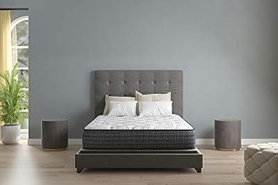 Signature Design by AshleyLimited Edition 11 Inch Plush Hybrid Mattress - CertiPUR-US Certified Gel Foam, Queen
