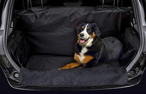 JOM Car Parts & Car Hifi GmbH 20696 Kofferraumschutz Hunde wasserabweisend rutschfest Kofferraumdecke mit Seitenschutz Kofferraumschutz Decke incl Ladekantenschutz