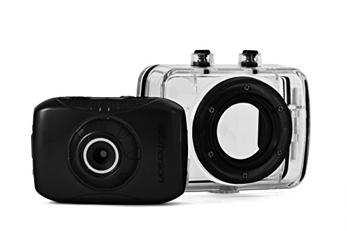 Emerson EVC355BK HD Sports Action Video Camera Kit With Waterproof Case
