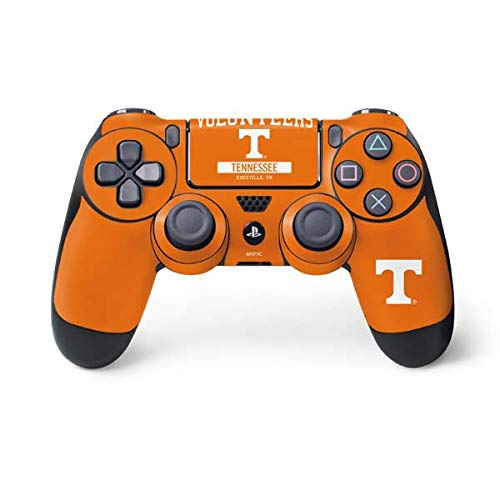 Skinit Decal Gaming Skin for PS4 Controller - Officially Licensed College Tennessee Volunteers Design