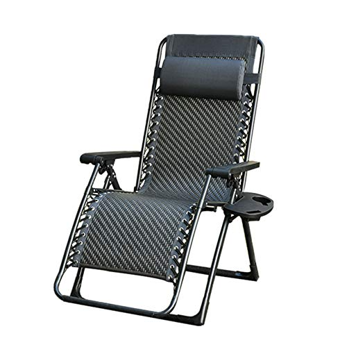 Outdoor Patio Lounge Chairs With Headrest/with Cup Holder/Zero Gravity Recliner Environmentally Friendly PE Rattan/hand-woven Best Choice Zero Gravity Chair