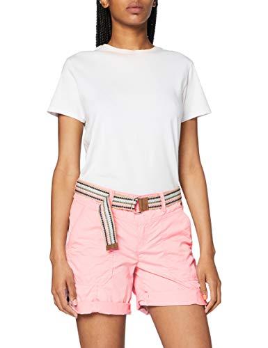 ESPRIT Damen 040EE1C343 Shorts, 670/PINK, 36