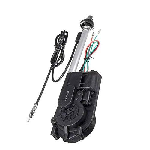 Universal 12V Car Automatic Antenna Aerial Kit Auto AM&FM Radio Electric Power Mast Aeria