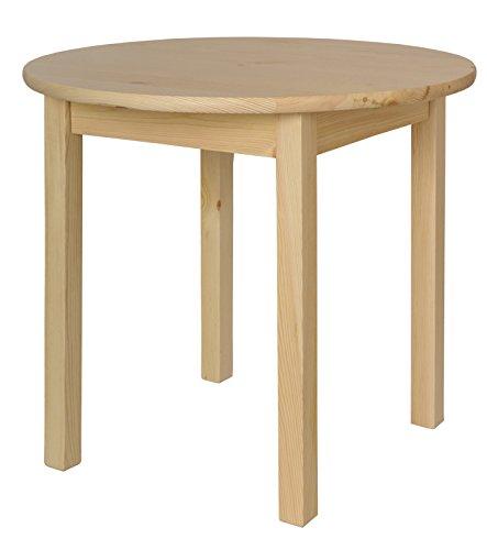 Magnetic Mobel Küchentisch Esstisch Tisch Massiv Kiefer Holz rund