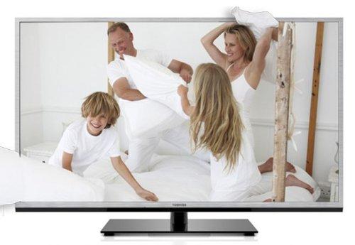Toshiba 46TL968G 116,8 cm (46 Zoll) Fernseher (Full HD, Triple Tuner, 3D, Smart TV)
