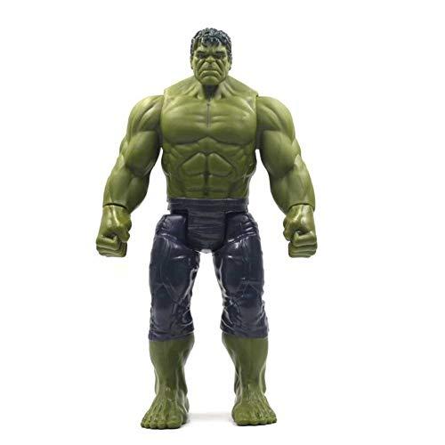Marvel und DIY Handarbeit Spielzeug Avengers Spielzeug - 30 cm Marvel Avengers 4 Endgame Toy Thanos Hulk Spiderman Iron Man Thor Wolverine Black Panther Venom Action Figure Kid Worth Collecting Naturg
