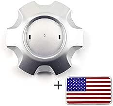 1pc 128mm(5.04in)/107mm(4.21in) ABS Silver Car Wheel Hub Center Caps for 2014-2015 Land Cruiser Prado #4260B-0G010#4260B-60290