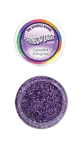 Rainbow Dust - Puderfarben Sparkle Range - Hologram Lavender
