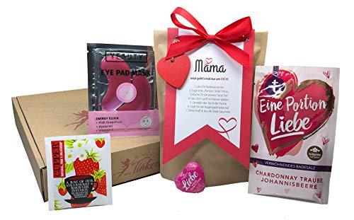 Tinkerella® Mama Wellness-Set Geschenk-Set zum Muttertag Mitbringsel Frauen
