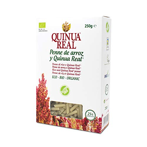 Penne de arroz y quinoa real bio gluten free - Quinua Real...