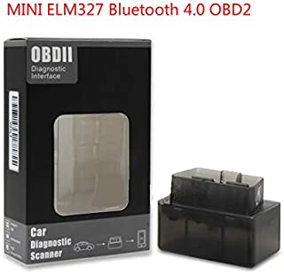 Uncle next door Mini ELM327 Bluetooth 4.0 OBD2 OBD 2 OBDII Car Diagnostic Scan Tool Auto OBD Scanner Car Fault Diagnosis Instrument Support for Android for iOS Phones