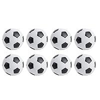 テーブルサッカーボール、ミニテーブルサッカーボール、サッカー愛好家のための白いミニ32mm8個153gレジャースポーツルーム