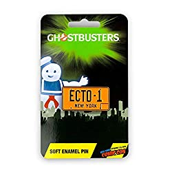 Who you gonna call? Now you can take your Ghostbusters pride with you wherever you go with this limited edition collector pin! Enamel pin features a the New York City license plate of the Ecto-1! This limited edition pin is a Toynk New York Comic Con...