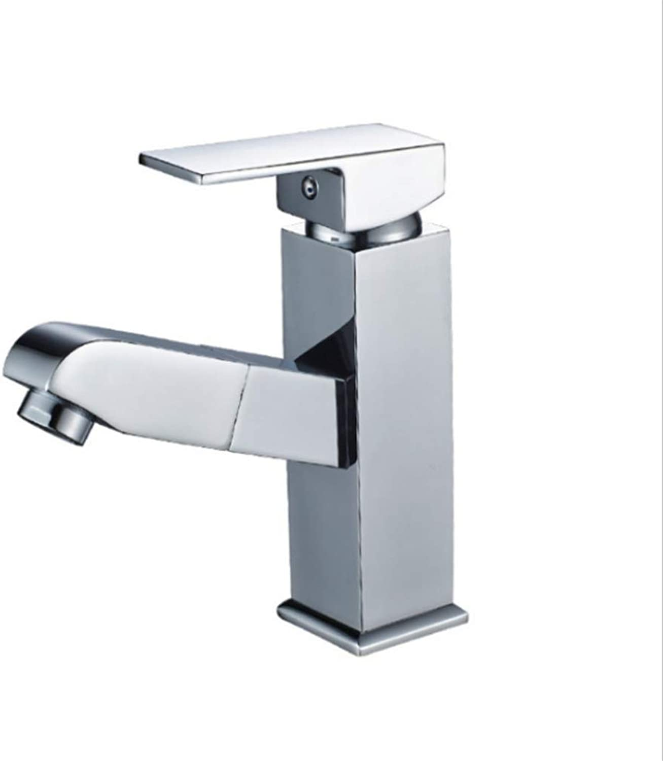 Faucet Mone Spout Basintongtai Lower Basin Pull Tap Cold and Hot Washbasin Tap Cube