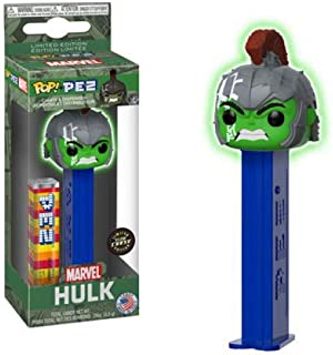 Pop! Pez Marvel Hulk Limited Edition Glow Chase Candy & Dispenser Rare Hard to Find