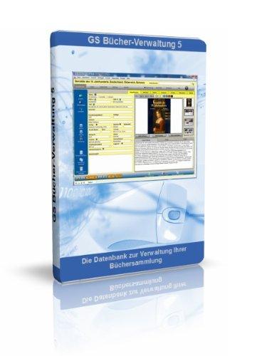 GS Bücher-Verwaltung 5 - Software zur Verwaltung Ihrer Büchersammlung - Datenbank Programm zur Bücherverwaltung