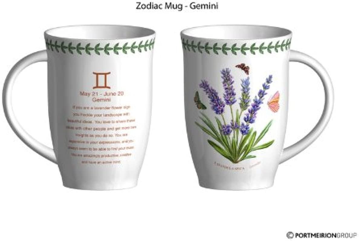 Portmeirion Botanic Garden Zodiac Mug Gemini 201 151 8484