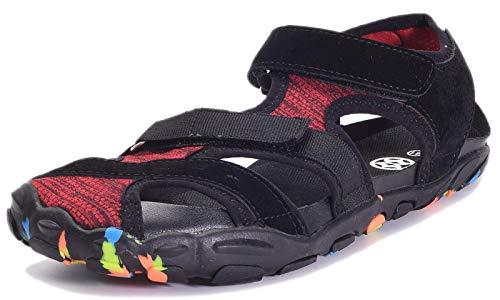 Sandalias de Verano Playa para Hombre Mujer Secado Rápido Sandalias Deportivas Senderismo Trekking Punta Cerrada Casual Zapatos de Agua Al Aire Libre