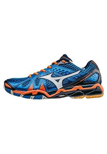 Mizuno Wave Tornado 9 BlueAtoll/Bolt/BlueDepth - 11+