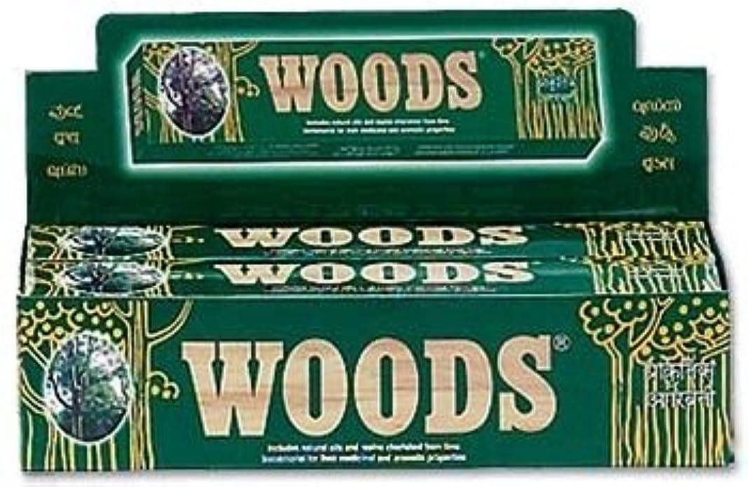 することになっているコミットメント労働Woods Natural Incense - Wholesale Pack