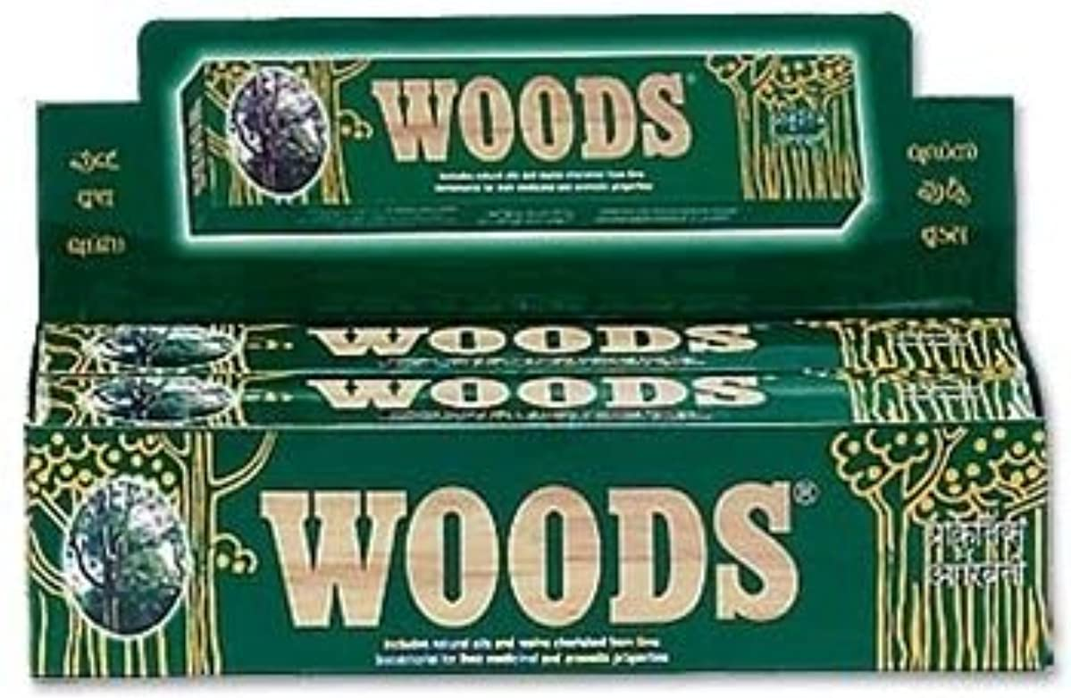 奇妙なブローショップWoods Natural Incense - Wholesale Pack