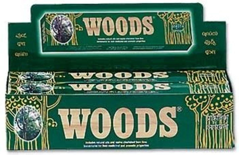 熱意過激派鳩Woods Natural Incense - Wholesale Pack
