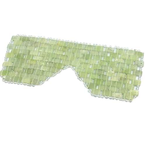 Tashido Für die Augen von Jade, natürliche Kühlung von Jade, zur Kältebehandlung, hilft, Schwellungen der Augen, Brust, Kopfschmerzen, Mikräne.