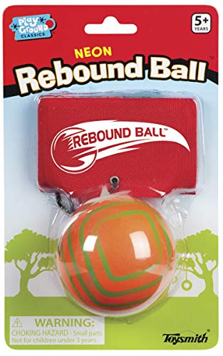 Toysmith Neon Rebound Ball Assorted Colors Packaging May Vary