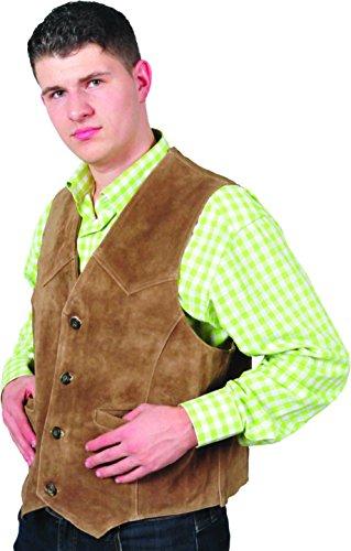 Fuente Leather Wears - Gilet - Uomo marrone chiaro M