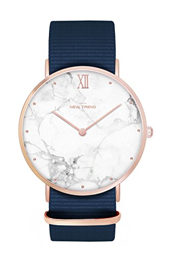 New Trend - Love for Accessories Damen Uhr analog Quarzwerk mit Nylon Armband OR-I6KG-G01E