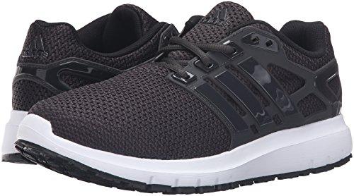 adidas Men's Energy Cloud WTC m Running Shoe, Black/Utility Black/White, 8 M US
