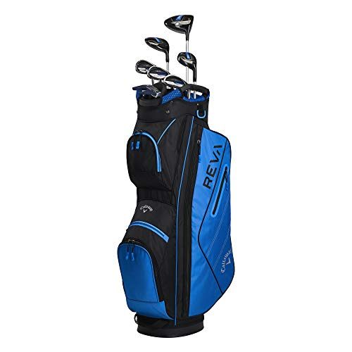 Callaway Golf 2021 REVA Complete Golf Set (8 Piece) Right-Handed, Regular, Blue