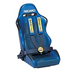 Cell phone holder in shape of the famous RECARO racing seat Arm is adjustable to fit different phones Attach onto A/C vent or dashboard