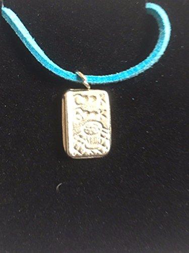 Kochbuch Backen Küche tg269feines englisches Zinn auf einem 45,7cm Blue Cord Halskette geschrieben von uns Geschenke für alle 2016von Derbyshire UK