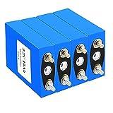 Paquete De Batería Recargable Lifepo4 15AH 3,2 V, Batería De Fosfato De Hierro Y Litio para UPS De Bicicleta Eléctrica De 12 V, 24 V, 36 V, Luz Solar HID (Color : 4Pcs, Tamaño : 3.2V 15ah)