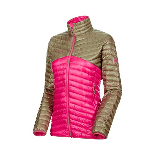 Mammut Damen Broad Peak Light Daunen-Jacke, Pink-Olive, M