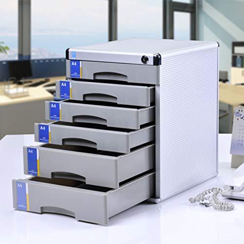 ASDFGH Gabinetes Archivos Llave 6 Capas Datos Almacenamiento