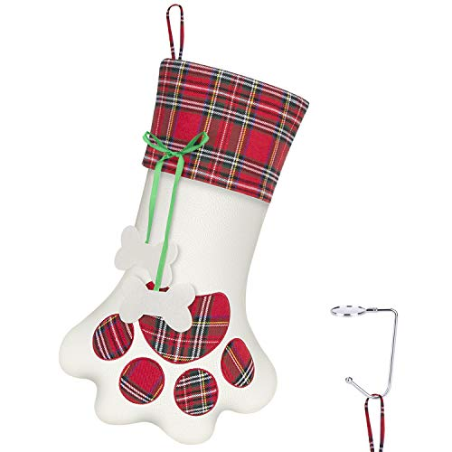 RenFox Christmas Stockings for Dogs Pets
