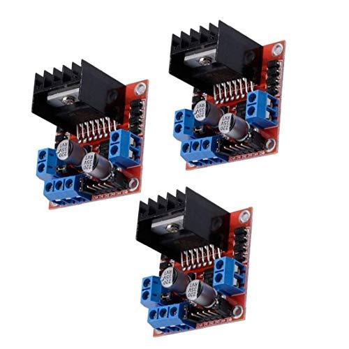 Uayasily Stepper Motor Driver Module L298N DC Dual H-Bridge Controller Board Compatible with Arduino Raspberry Pi 3PCS 3D printer accessories
