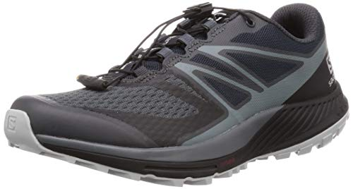 Salomon Sense Escape 2, Zapatillas de Trail Running Hombre, Gris (Ebony/Stormy Weather/Pearl Blue), 40 EU