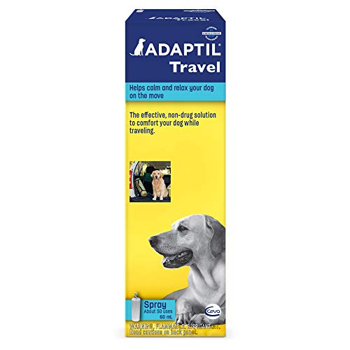 Adaptil Travel Calming Spray For Dogs (60 ml) - Calming & Comfort During Travel
