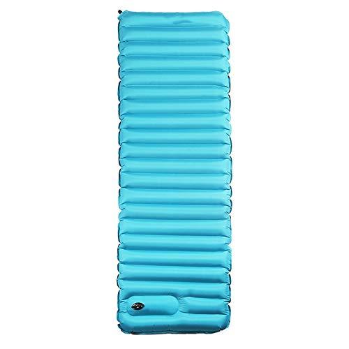 MKJYDM Schlafmatte Airbag Typ ultraleichte aufblasbare Kissen Outdoor-Zelt Schlafmatte Isomatte Single verbreiterte Dicke Auflage Schlafsack (Size : B)